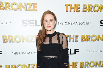 Christiane Seidel The Cinema Society & SELF Host a Screening of Sony Pictures Classics' 'The Bronze' - Arrivals