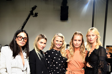 Christie Brinkley Sailor Brinkley Cook Zimmermann - Front Row - September 2018 - New York Fashion Week: The Shows