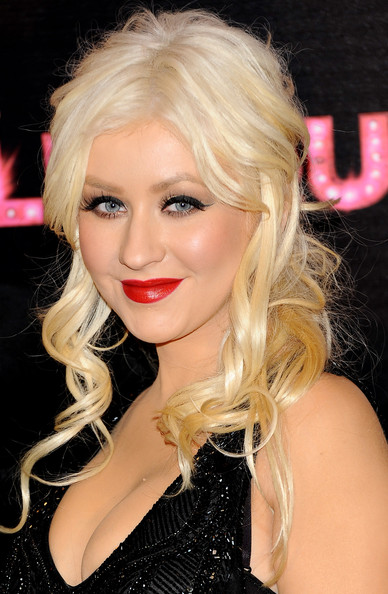 christina aguilera hair up. Nothing else burlesque hair