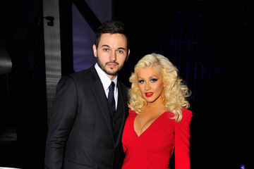 Christina Aguilera Matthew Rutler Breakthrough Prize Awards Ceremony