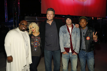 "Christina Aguilera ""The Voice"" - Season 8 Coaches And Top 8 Contestants Concert"