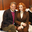Christina Hendricks Brooks Brothers Hosts Annual Holiday Celebration To Benefit St. Jude At West Hollywood EDITION
