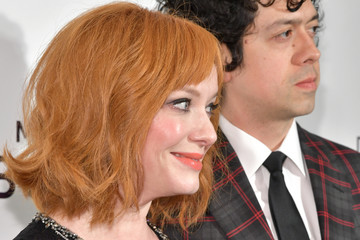Christina Hendricks Geoffrey Arend 27th Annual Elton John AIDS Foundation Academy Awards Viewing Party Celebrating EJAF And The 91st Academy Awards - Arrivals