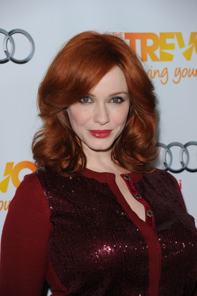 Trending: Redheads in Red Lipstick