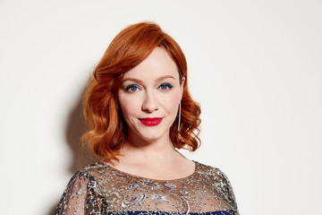 Christina Hendricks 21st Costume Designers Guild Awards x Getty Images Portrait Studio presented by LG V40 ThinQ