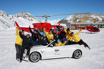 Christina Hengster BMW Snow Driving Experience Soelden
