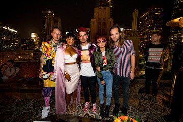 Christina Milian MasterCard and Westwood One Present DNCE and Audien at Perch Los Angeles