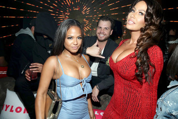 Christina Milian NYLON Young Hollywood Party At AVENUE Los Angeles