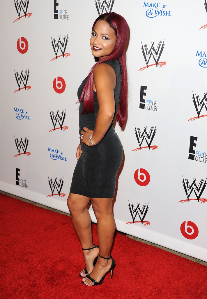 Christina Milian Attends Wwe And E Superstars For Hope