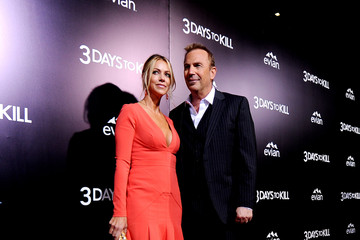 Christine Baumgartner '3 Days to Kill' Premieres in Hollywood