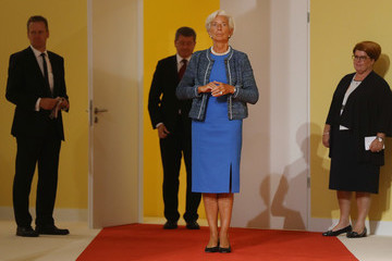 Christine Lagarde G20 Nations Hold Hamburg Summit