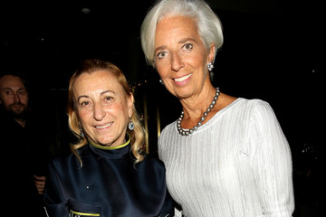 Christine Lagarde Glamour Women of the Year 2016 - Dinner