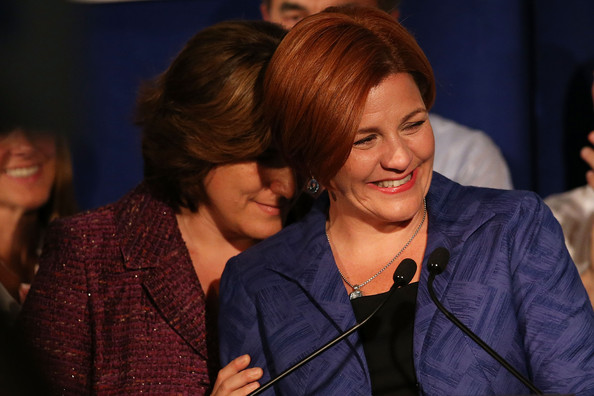 Christine Quinn Campaign Holds Primary Election Night Event []