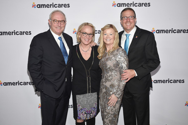 2018 Americares Airlift Benefit [event,yellow,award,smile,suit,tourism,businessperson,americares airlift benefit,l-r,white plains,new york,katy close,christopher buckley,michael nyenhuis,sandy nyenhuis]