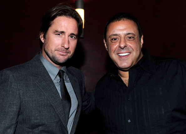 Chris Mallick with Luke Wilson