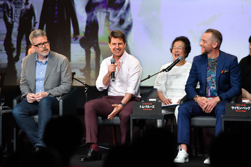 Christopher Mcquarrie 'Mission: Impossible - Fallout' Tokyo Press Conference and Photo Call