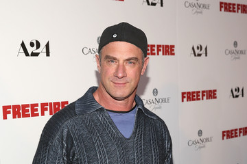Christopher Meloni Premiere of A24's 'Free Fire' - Arrivals