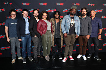 Christopher Miller Cast And Filmmakers From 'SPIDER-MAN: INTO THE SPIDER-VERSE' At New York's Comic Con