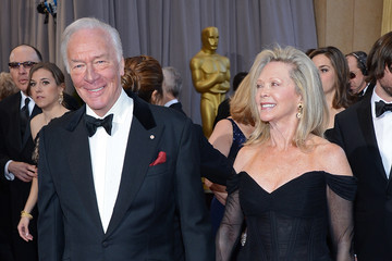 Elaine Taylor with Christopher Plummer