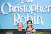 Jim Cummings and Hayley Atwell attend the European Premiere of 'Christopher Robin' at BFI Southbank on August 5, 2018 in London, England.