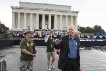 Christopher Walken President Trump Delivers Address At Lincoln Memorial On Independence Day