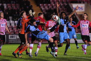 Christy Pym Exeter City v Wycombe Wanderers