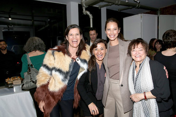 Christy Turlington Lynsey Addario's Book Launch Party