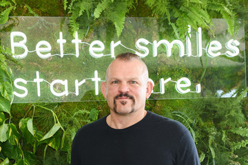Chuck Liddell SmileDirectClub Invites Celebrities And Influencers To Join Them At TMG's Pre-Oscars Lounge Party At The Beverly Hilton Hotel To Get Them Red Carpet-Ready With Its Premium Teeth Whitening Bar And New Line Of Oral Care Products