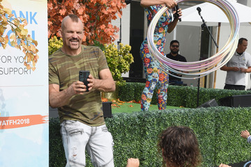 Chuck Liddell The Elizabeth Glaser Pediatric AIDS Foundation's Annual 'A Time For Heroes' Family Festival At Smashbox Studios