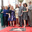 Chuck Lorre Alan Arkin Honored With A Star On The Hollywood Walk Of Fame