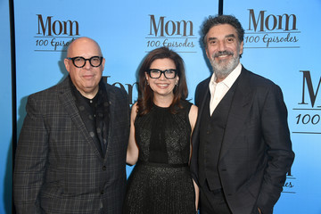 Chuck Lorre CBS And Warner Bros. Television's 'Mom' Celebrates 100 Episodes - Arrivals