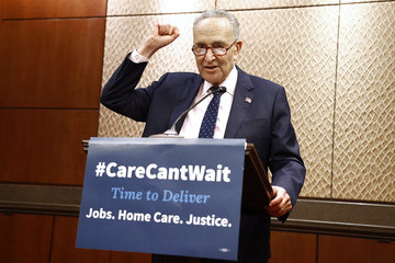 Chuck Schumer Advocates Welcome Back Congress At DC Rally By Calling For Urgent Focus On Caregiving