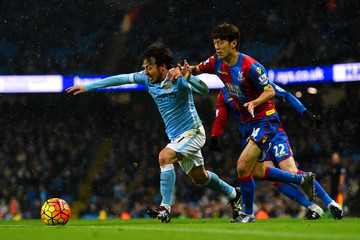 Chung-Yong Lee Manchester City v Crystal Palace - Premier League