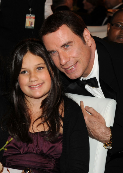 Actor John Travolta (R) and daughter actress Ella Bleu Travolta attend The Church of Scientology Celebrity Centre 41st Anniversary Gala held at the Church of Scientology Celebrity Centre on August 7, 2010 in Los Angeles, California.