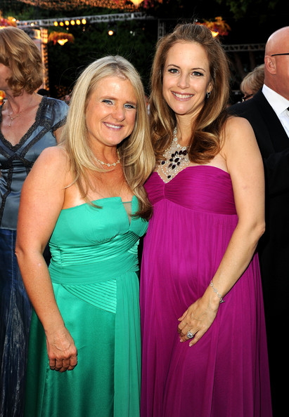 Voice artist Nancy Cartwright and actress Kelly Preston attend The Church of Scientology Celebrity Centre 41st Anniversary Gala held at the Church of Scientology Celebrity Centre on August 7, 2010 in Los Angeles, California.