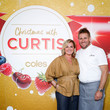 Chyka Keebaugh Curtis Stone Unveils Coles' Christmas Stone