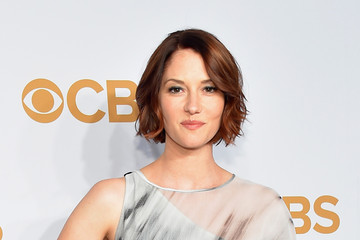 Chyler Leigh 2015 CBS Upfronts - Arrivals