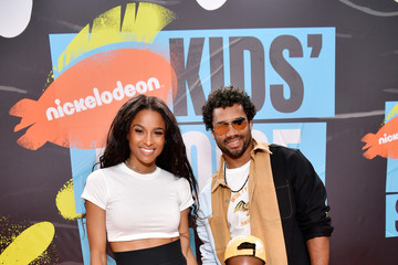 Ciara Russell Wilson Nickelodeon Kids' Choice Sports 2019 - Red Carpet