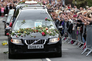 Cilla Black The Funeral of Cilla Black