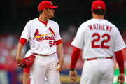 Mike Matheny Jaime Garcia Photos Photo