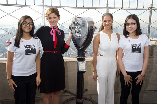 Misty Copeland & Cindi Leive Light The Empire State Building In Honor Glamour's Women of the Year Awards