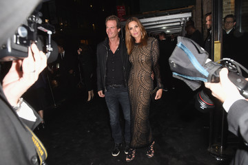 Cindy Crawford Balmain and Olivier Rousteing Celebrate After The Met Gala - Arrivals