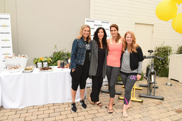 Cindy Crawford SoulCycle And Urban Remedy Kick Off Summer At SoulCycle Malibu