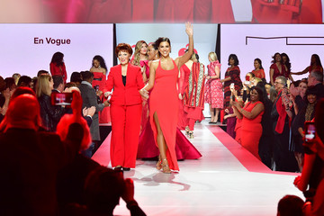Cindy Herron Karen A. Hill The American Heart Association's Go Red For Women Red Dress Collection 2018 Presented By Macy's - Runway