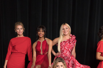 Cindy Herron Karen A. Hill The American Heart Association's Go Red for Women Red Dress Collection 2018 Presented By Macy's - Backstage