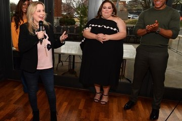 Cindy Mabe 'Breakthrough' VIP Reception With Producer DeVon Franklin And Actress Chrissy Metz In Nashville, TN