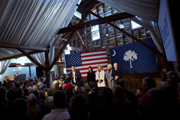 Cindy McCain Romney Visits Peanut Warehouse On Brief Campaign Swing Through S. Carolina
