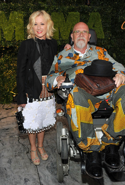 2012 MoMA Party In The Garden Benefit - Arrivals [fashion,sitting,event,costume,cindy sherman,chuck close,new york city,museum of modern art,moma party in the garden benefit - arrivals,party in the garden benefit]