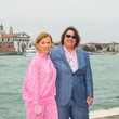 Cindy Sherman CAMEO By Lizworks Launch Event At Harry' s Dolci During The 58th Venice Biennale