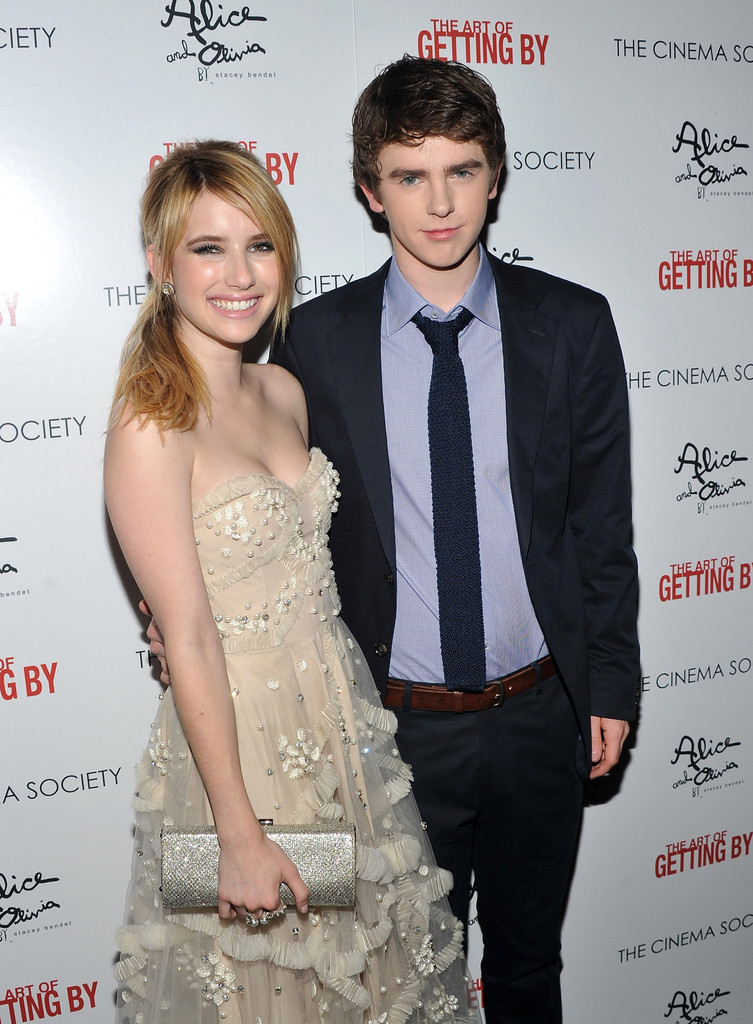 Freddie highmore photos photos the cinema society with for Freddie highmore movies and tv shows